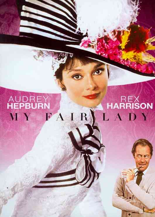 MY FAIR LADY BY HEPBURN,AUDREY (DVD)